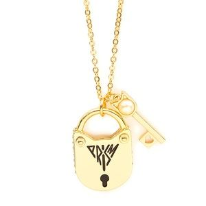 New: Katy Perry Prism, Gold Locket & Key Necklace